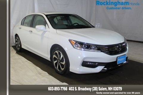 Pre-Owned 2017 Honda Accord Sedan EX